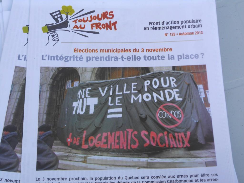 Montréal : Ville ou marchandise ?